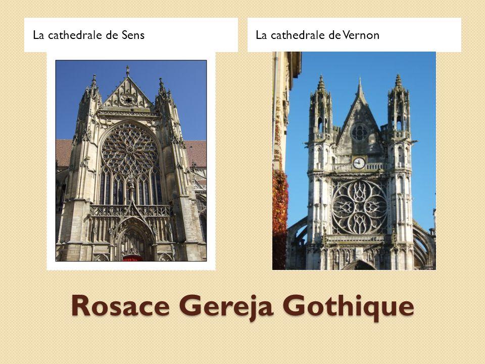 Rosace Gereja Gothique