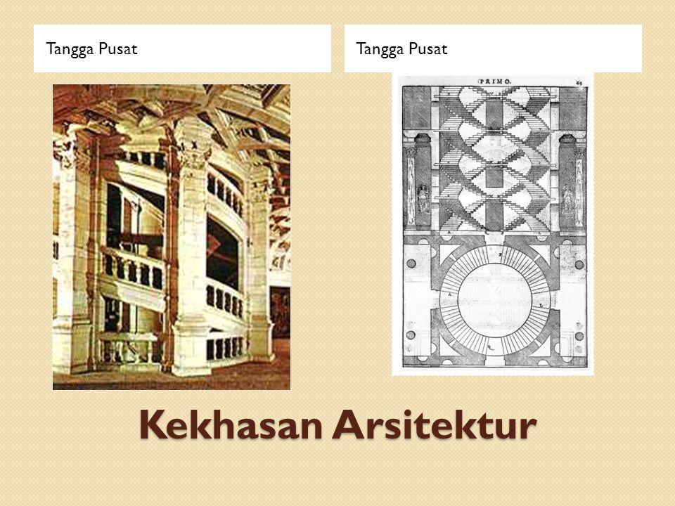 Tangga Pusat Tangga Pusat Kekhasan Arsitektur