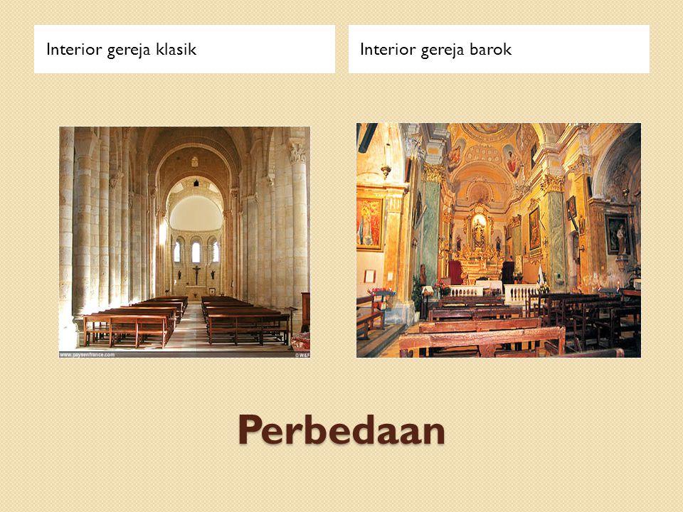 Interior gereja klasik