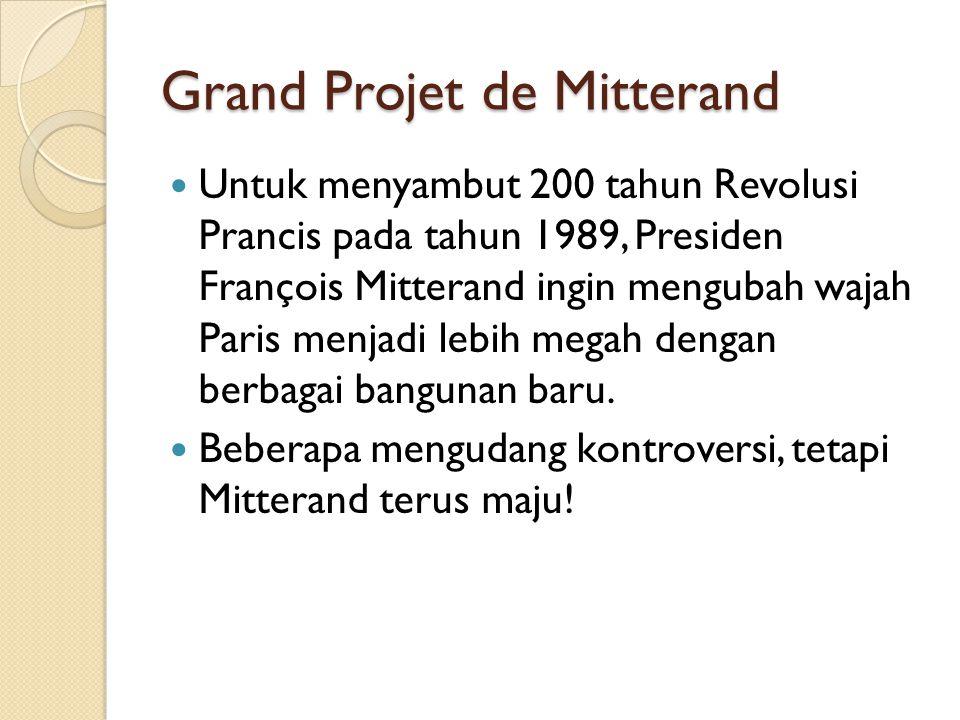 Grand Projet de Mitterand
