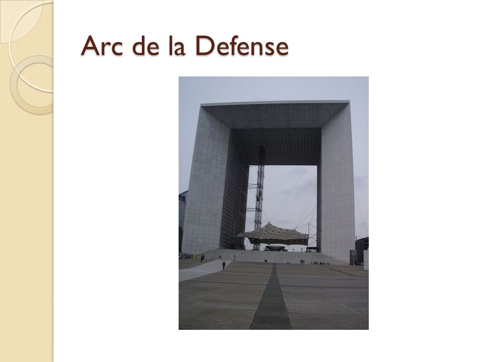 Arc de la Defense