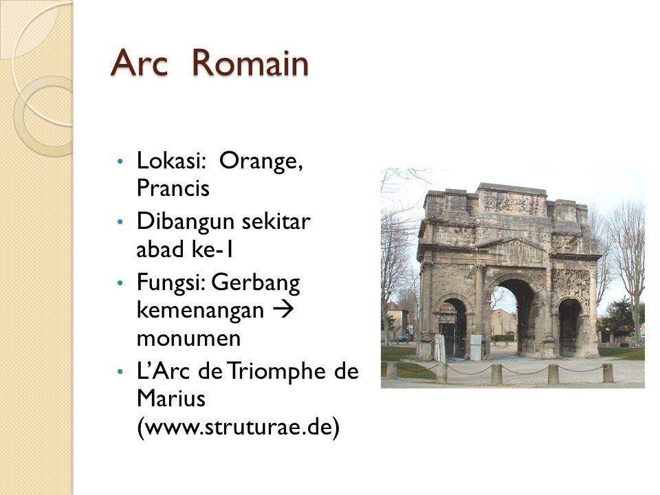 Arc Romain Lokasi: Orange, Prancis Dibangun sekitar abad ke-1