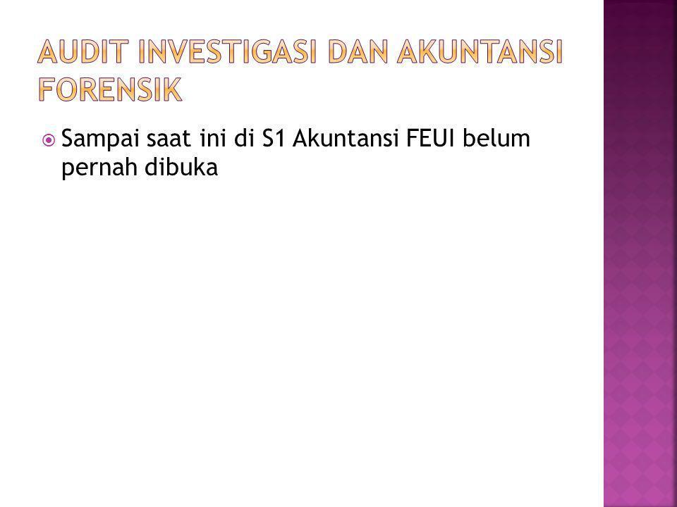 Audit investigasi dan akuntansi forensik