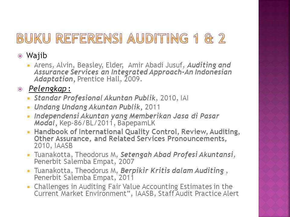 Buku Referensi Auditing 1 & 2