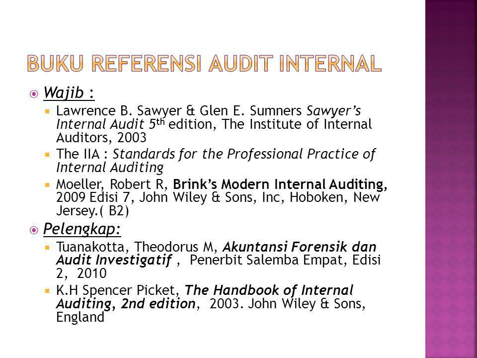Buku Referensi Audit Internal