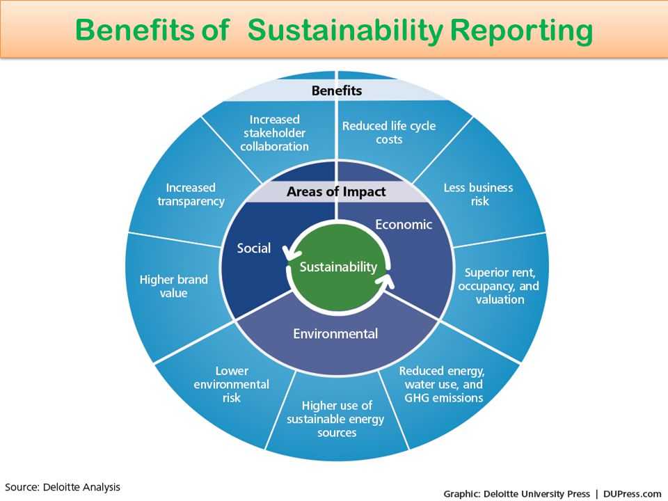Benefits of Sustainability Reporting