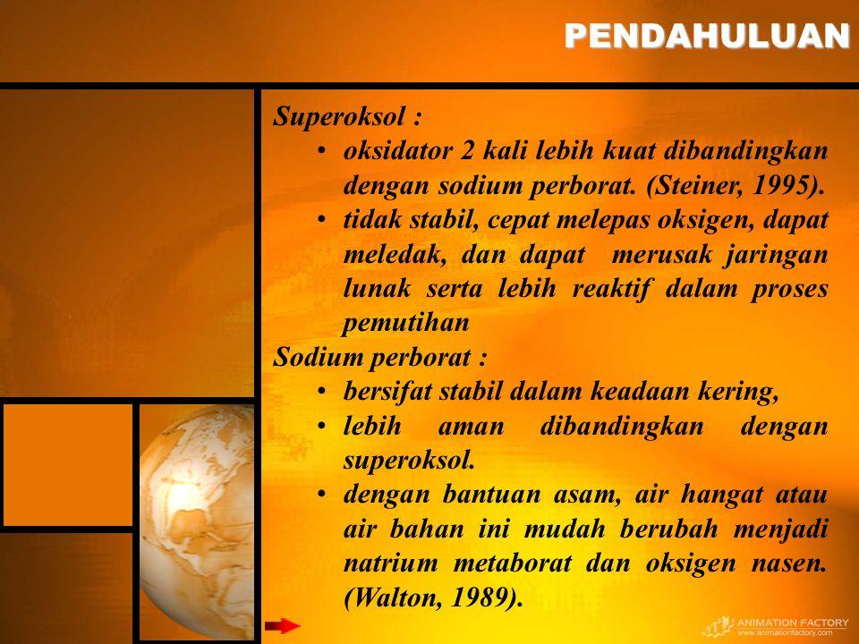 PENDAHULUAN Superoksol :