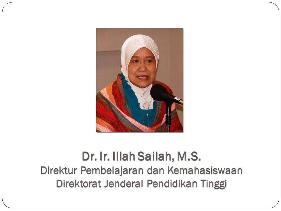 Dr. Ir. Illah Sailah, M.S.