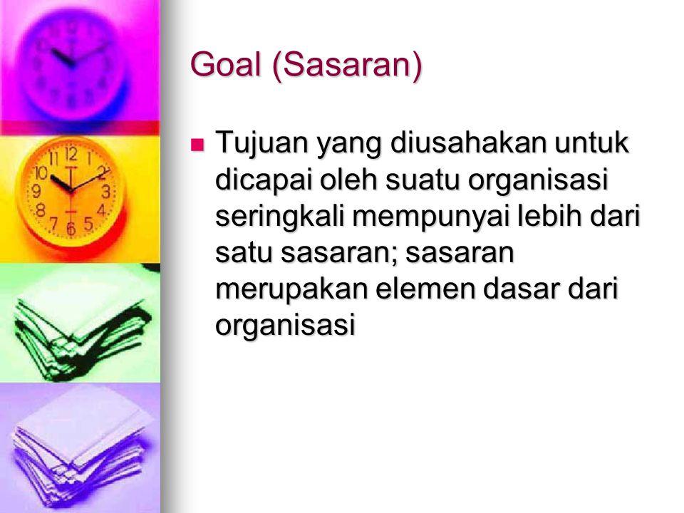 Goal (Sasaran)