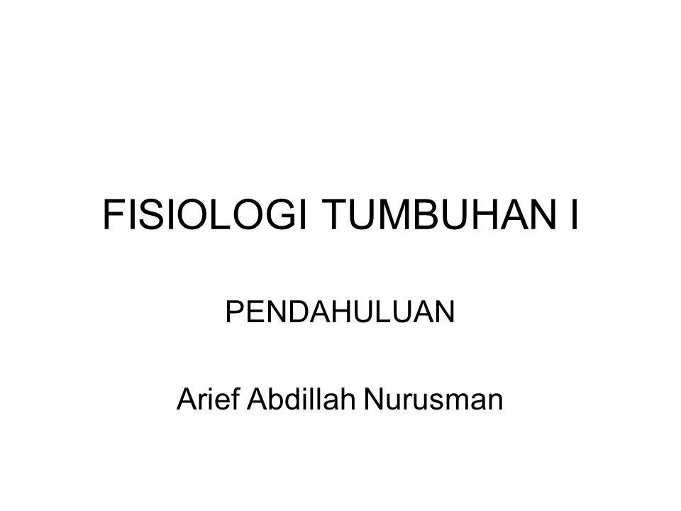 PENDAHULUAN Arief Abdillah Nurusman