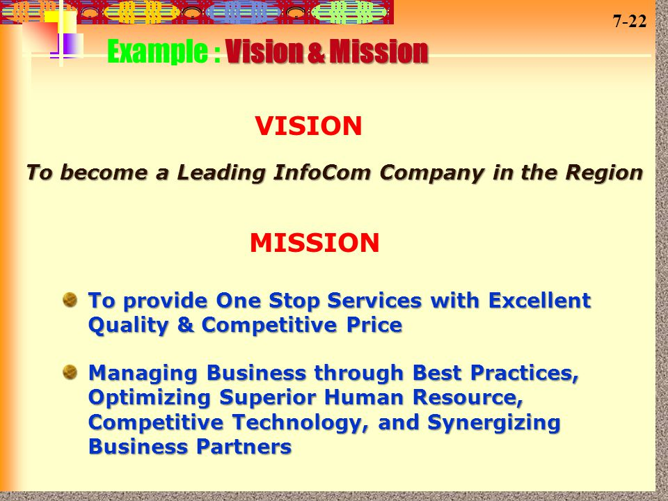 To become a Leading InfoCom Company in the Region