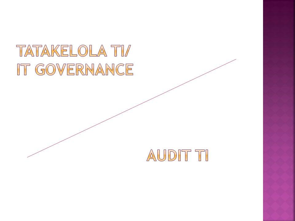 TATAKELOLA TI/ IT GOVERNANCE
