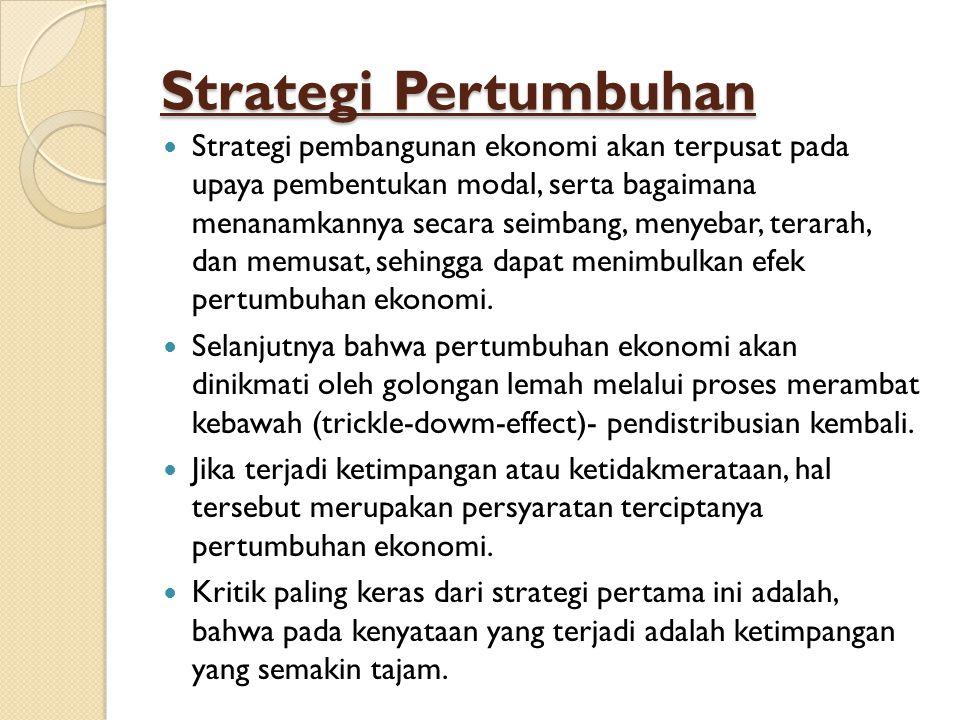 Strategi Pertumbuhan
