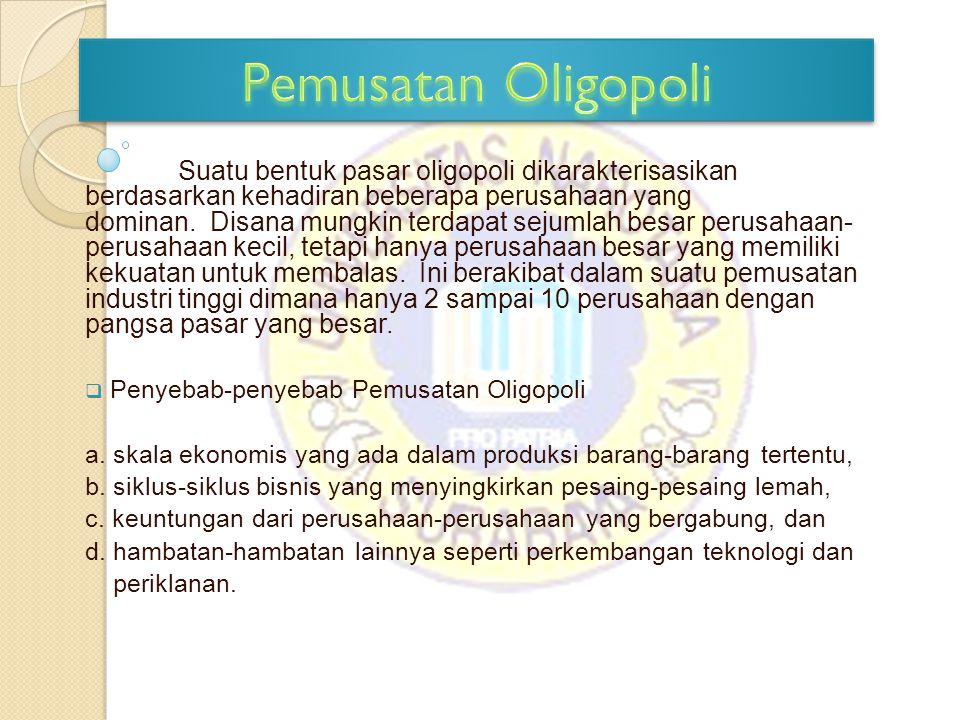 Pemusatan Oligopoli