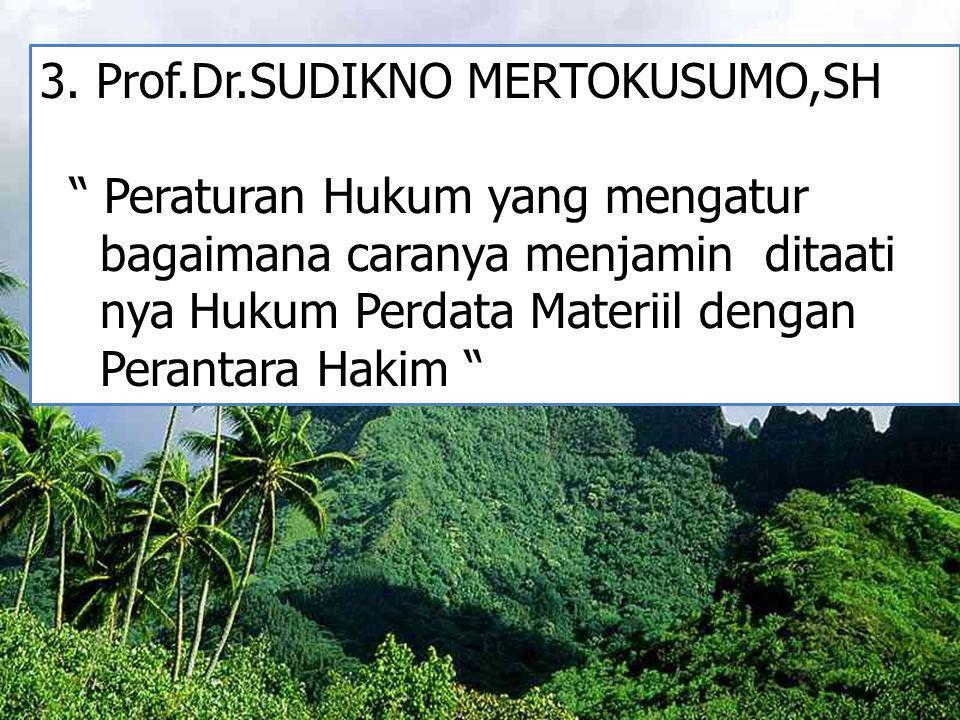 3. Prof.Dr.SUDIKNO MERTOKUSUMO,SH