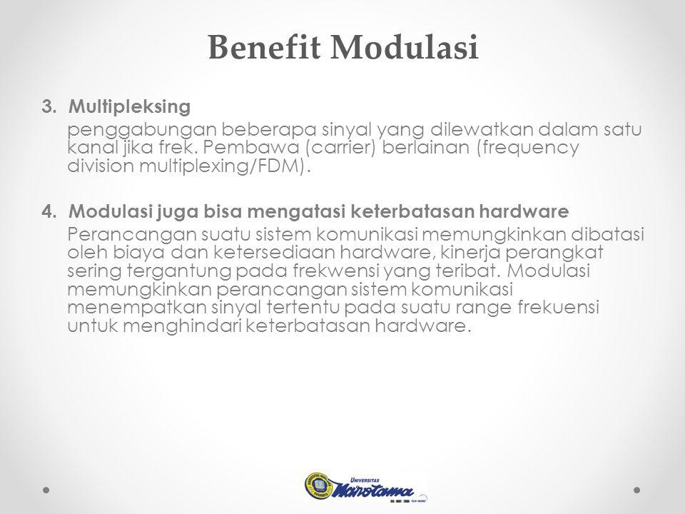 Benefit Modulasi