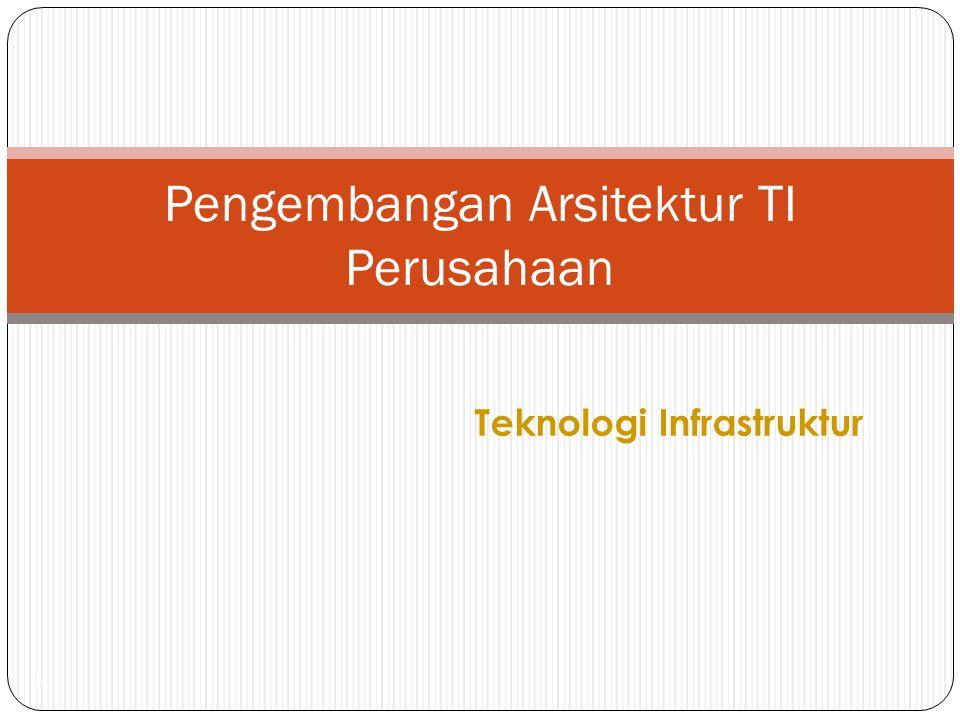 Pengembangan Arsitektur TI Perusahaan
