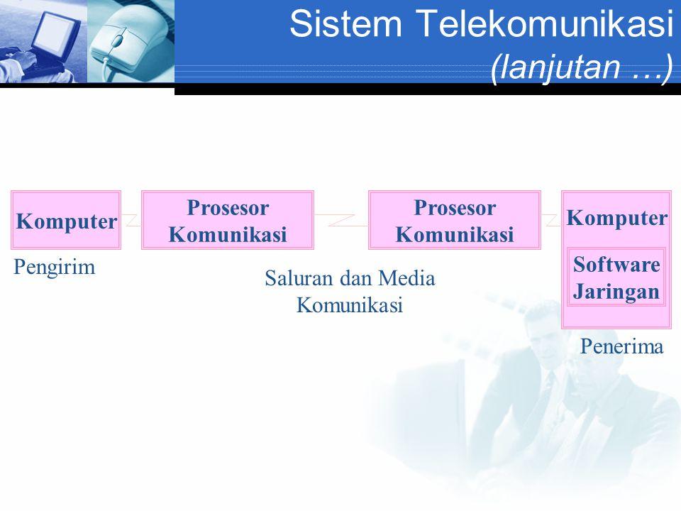 Sistem Telekomunikasi (lanjutan …)