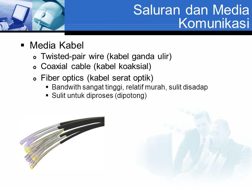 Saluran dan Media Komunikasi