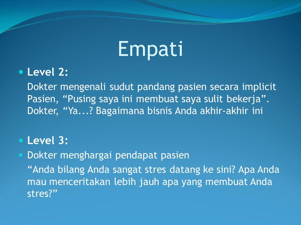 Empati Level 2: