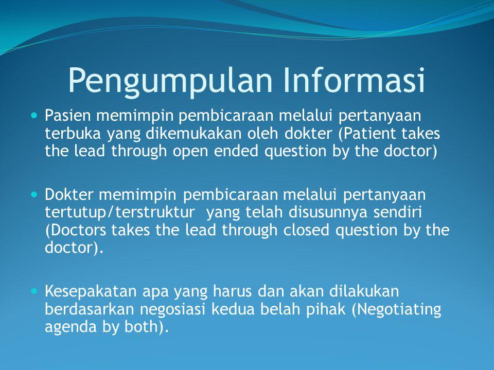 Pengumpulan Informasi
