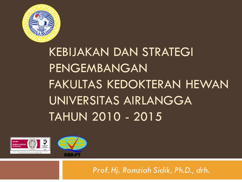 Prof. Hj. Romziah Sidik, Ph.D., drh.