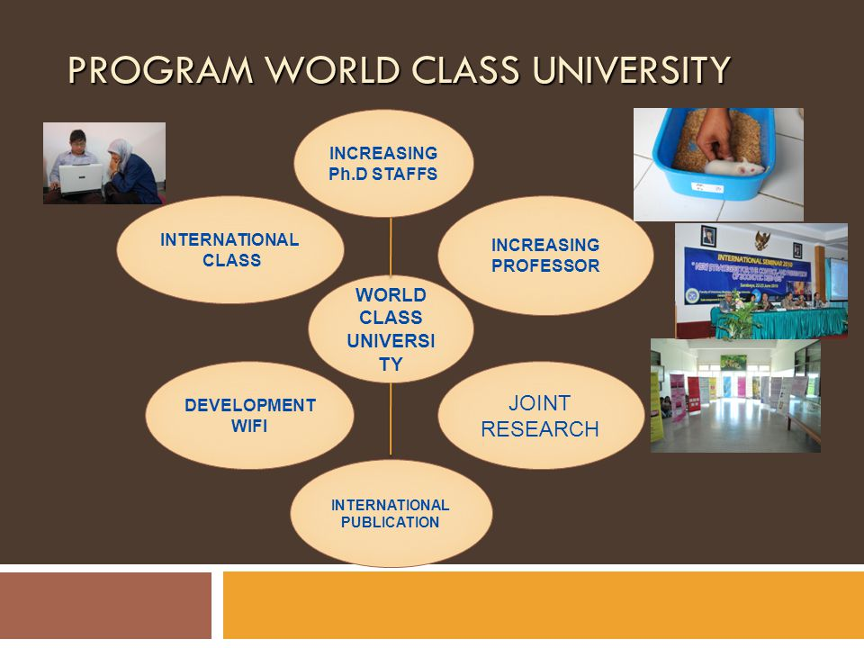 PROGRAM WORLD CLASS UNIVERSITY