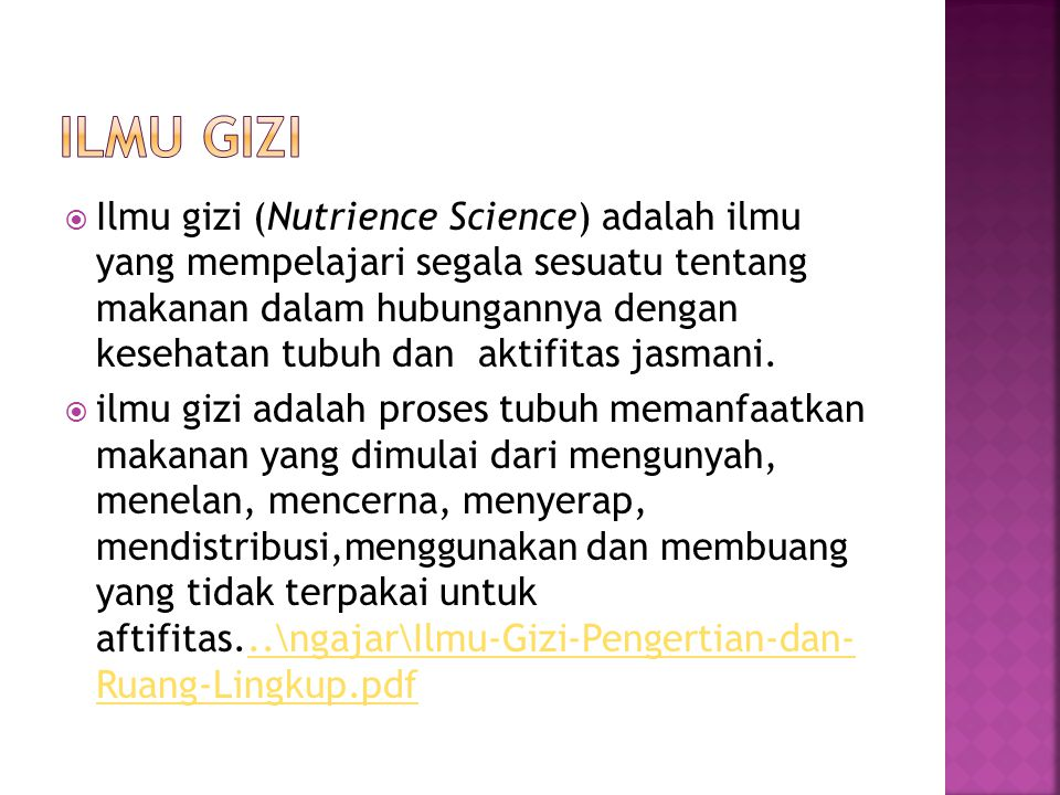 Ilmu Gizi