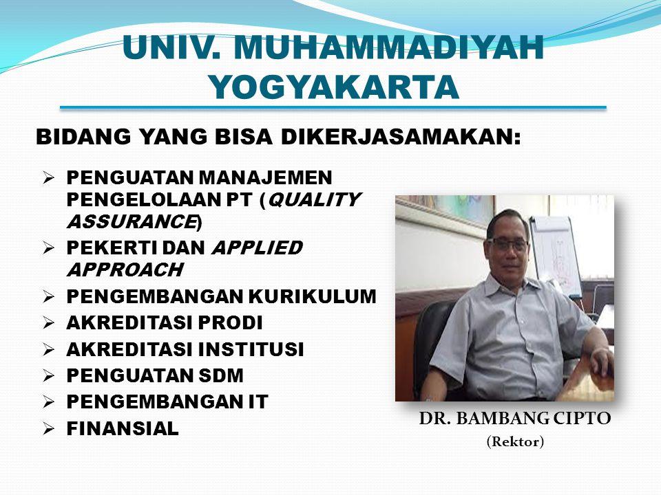 UNIV. MUHAMMADIYAH YOGYAKARTA