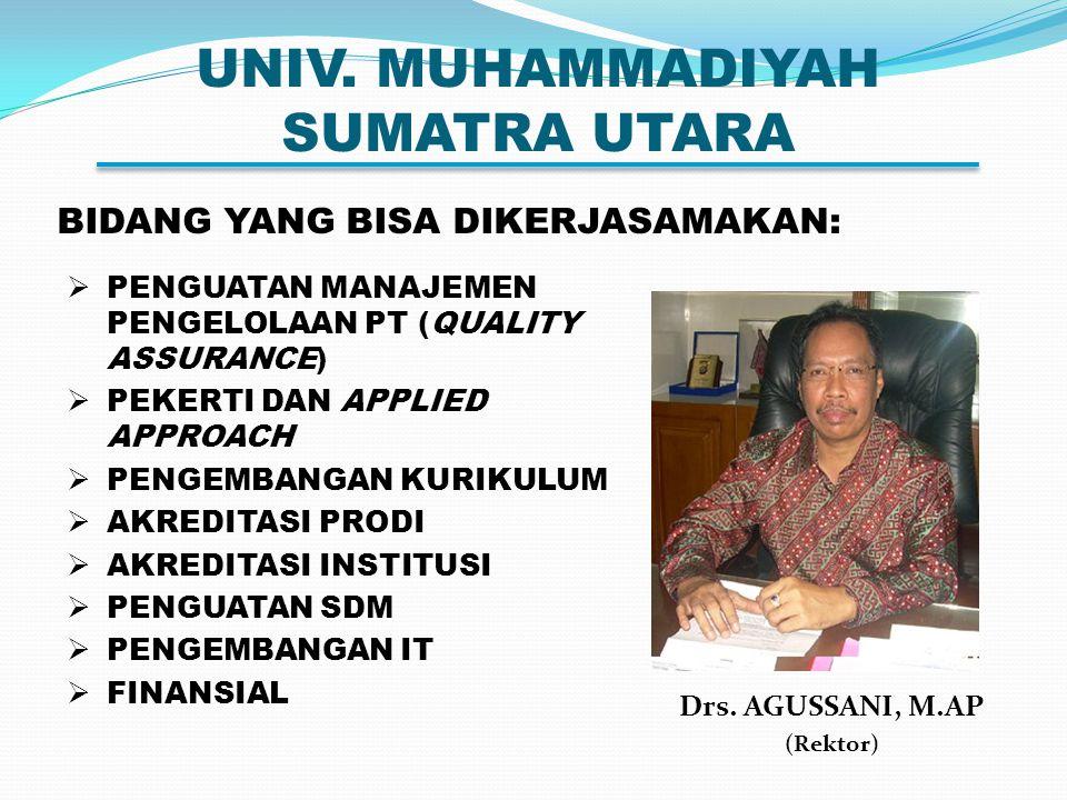 UNIV. MUHAMMADIYAH SUMATRA UTARA