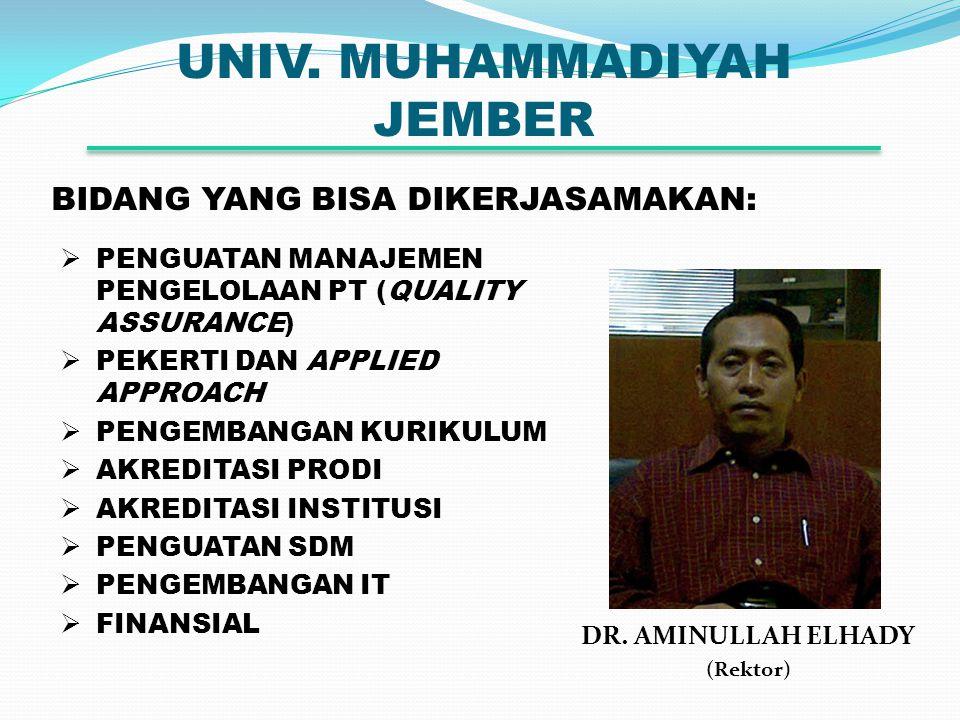UNIV. MUHAMMADIYAH JEMBER