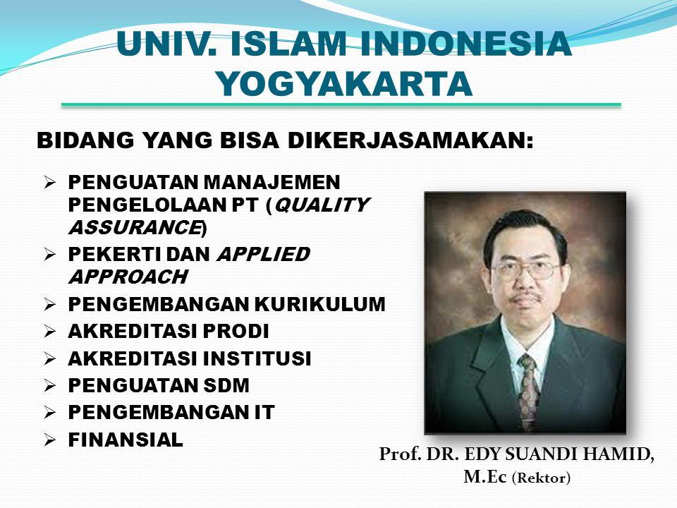 UNIV. ISLAM INDONESIA YOGYAKARTA