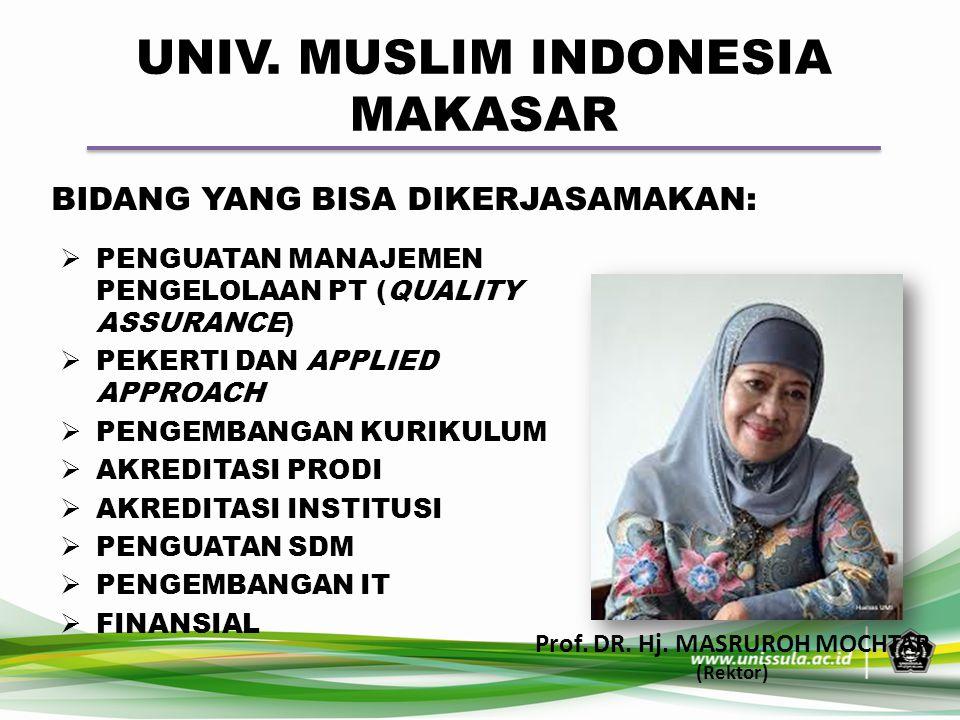 UNIV. MUSLIM INDONESIA MAKASAR