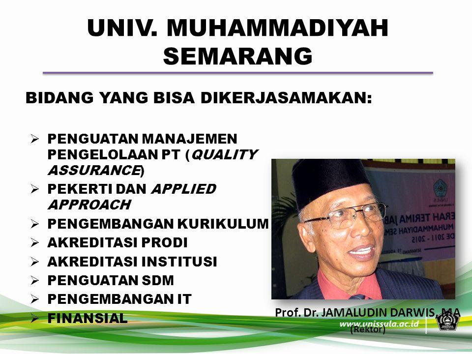 UNIV. MUHAMMADIYAH SEMARANG