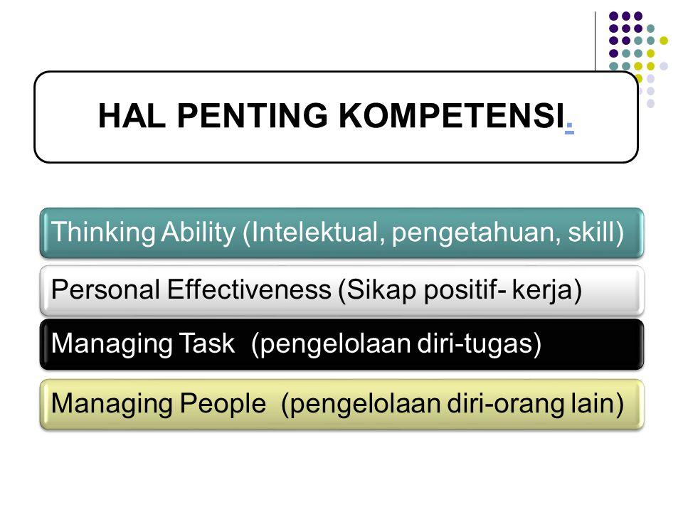 HAL PENTING KOMPETENSI.