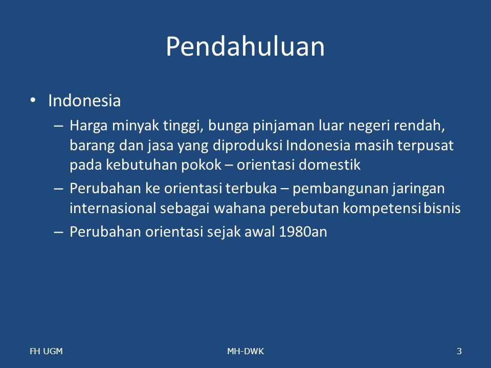 Pendahuluan Indonesia
