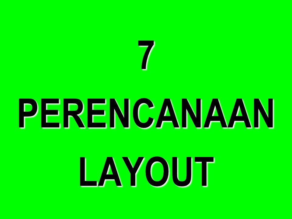 7 PERENCANAAN LAYOUT
