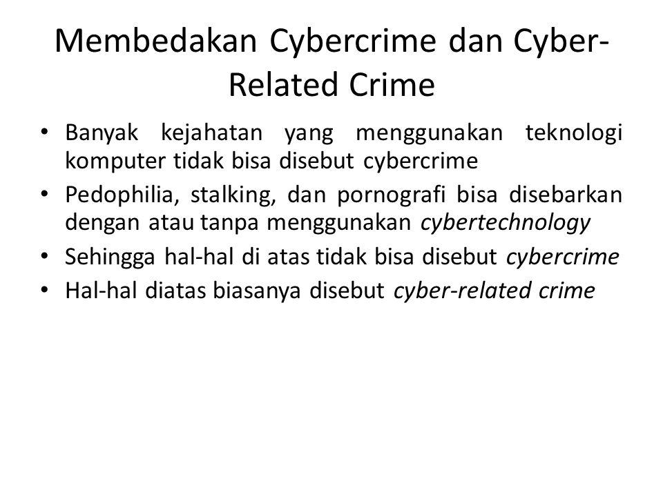 Membedakan Cybercrime dan Cyber-Related Crime