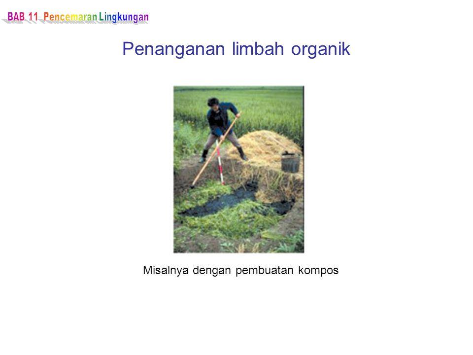 Penanganan limbah organik