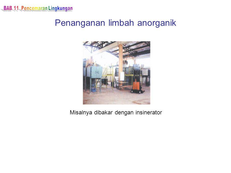 Penanganan limbah anorganik