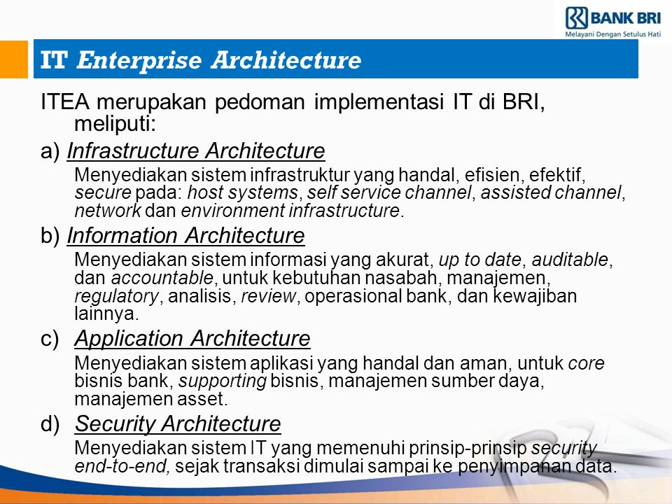 IT Enterprise Architecture