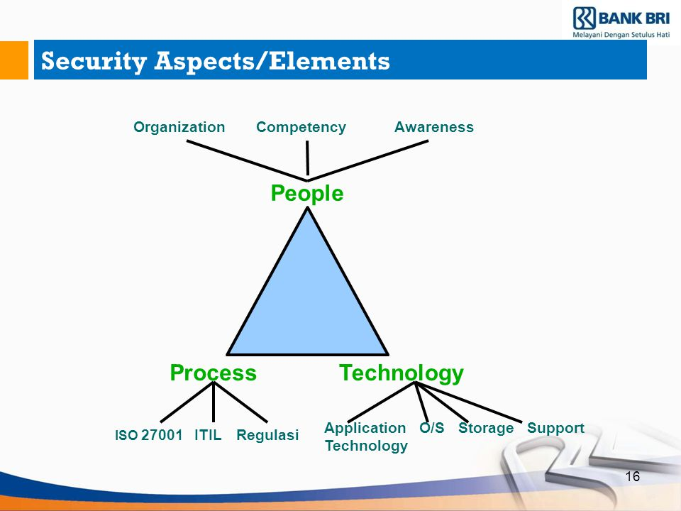 Security Aspects/Elements