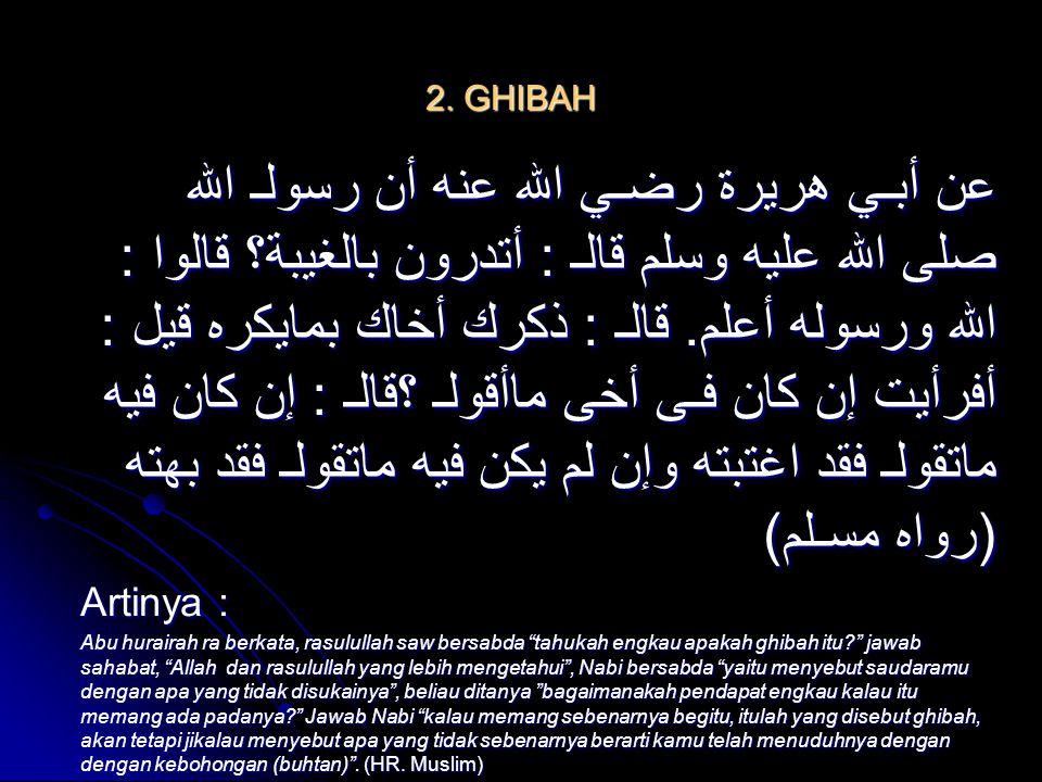 2. GHIBAH