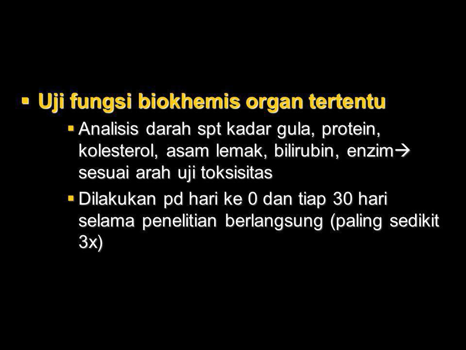 Uji fungsi biokhemis organ tertentu