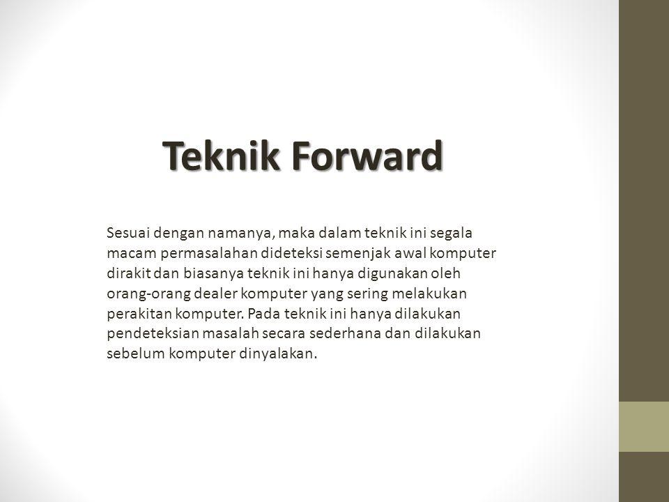 Teknik Forward