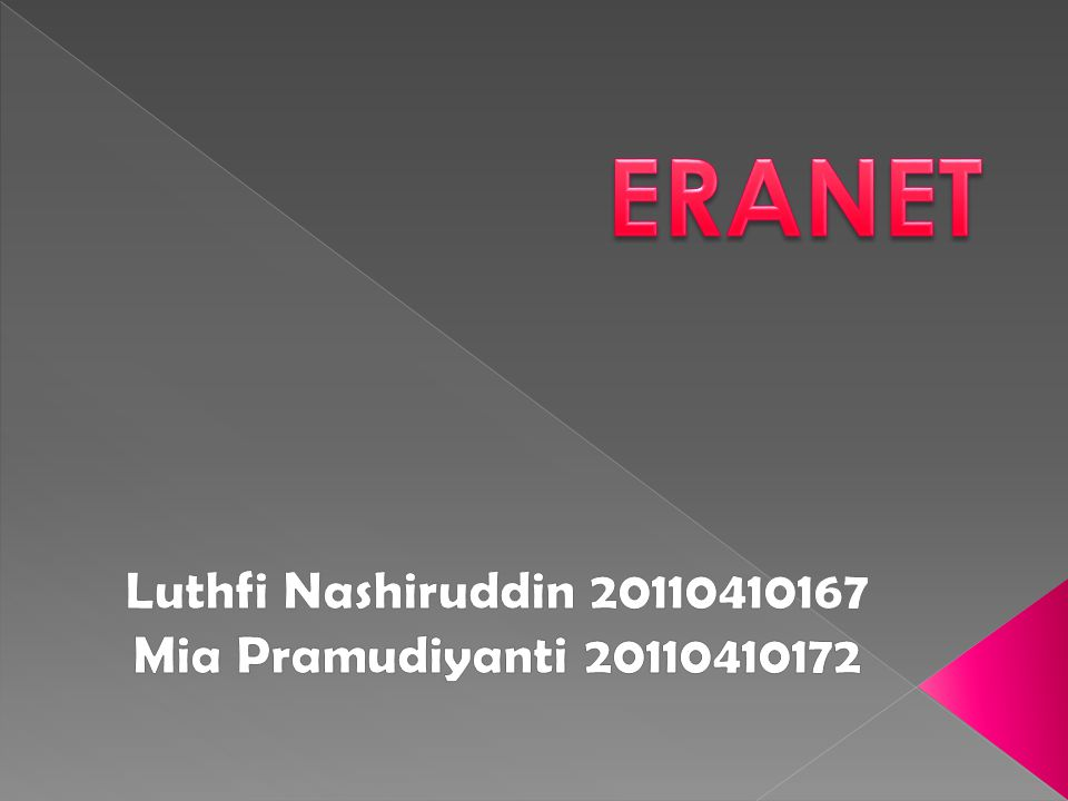 Luthfi Nashiruddin 20110410167 Mia Pramudiyanti 20110410172