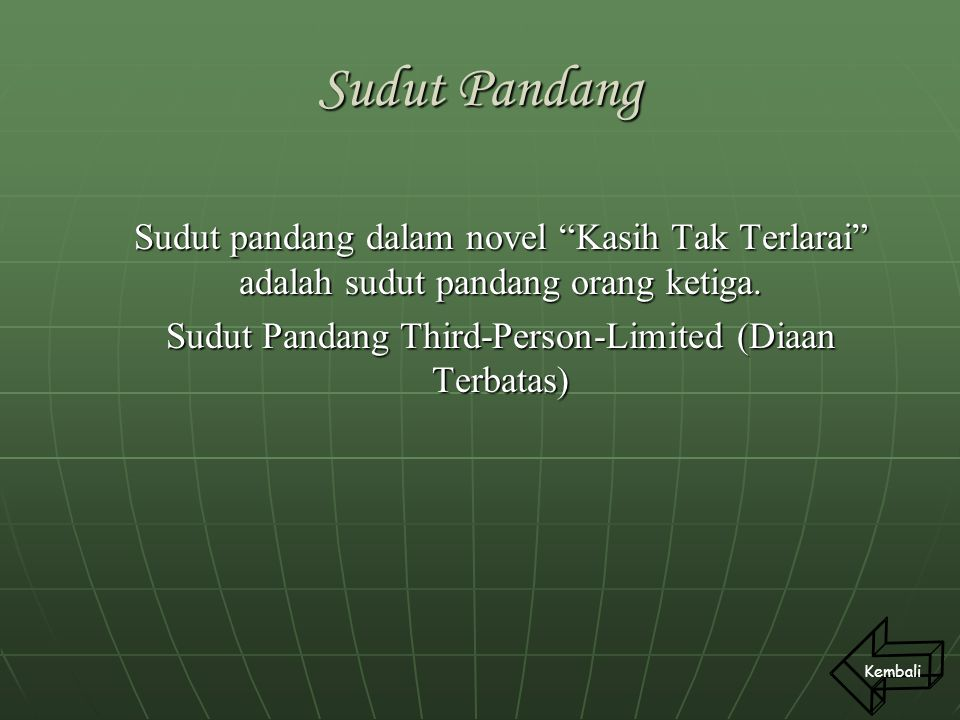 Sudut Pandang Third-Person-Limited (Diaan Terbatas)