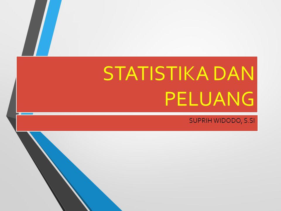 STATISTIKA DAN PELUANG