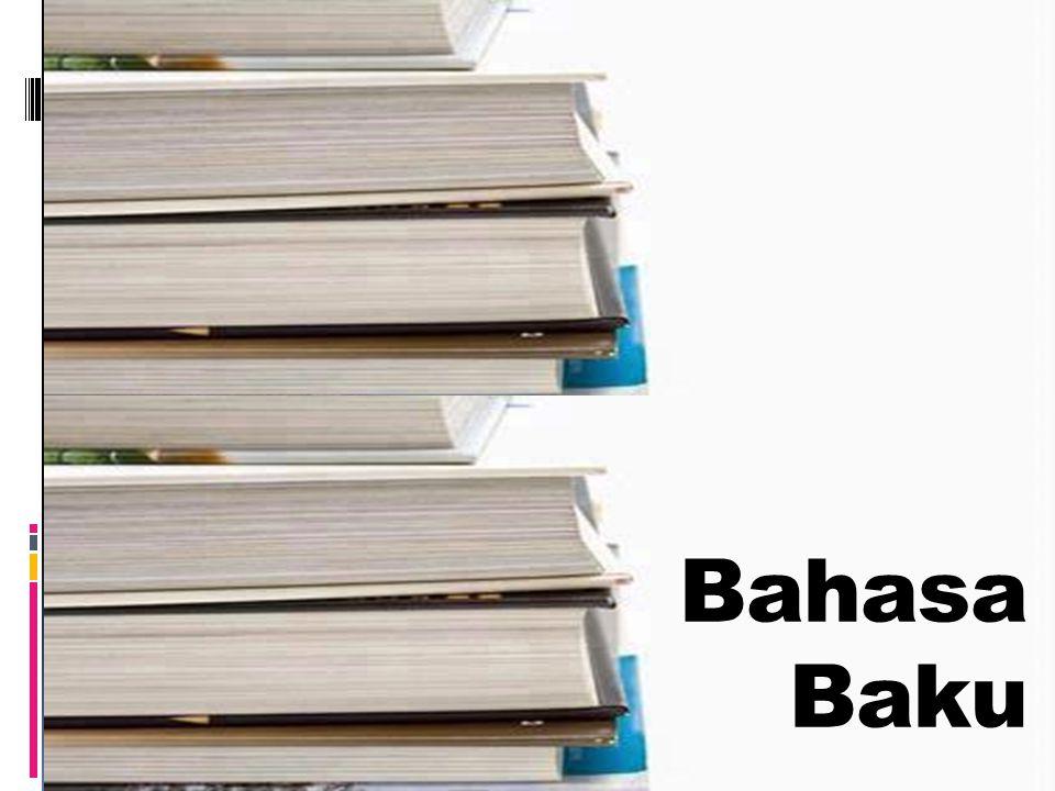 Bahasa Baku