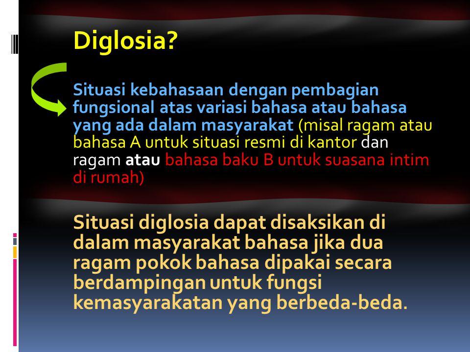Diglosia